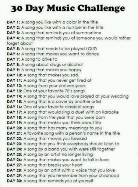 30daysmusicchallenge